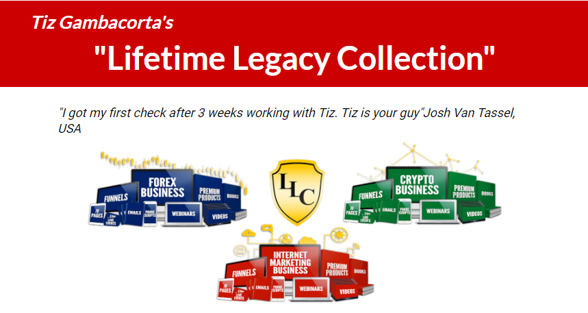 Lifetime Legacy Collection Mega Bundle by Tiz Gambacorta