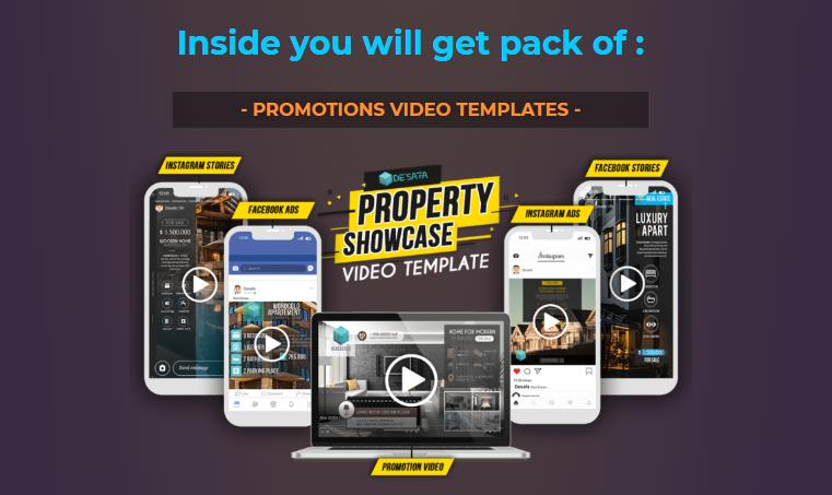 Property Showcase Video Templates OTO Upsell