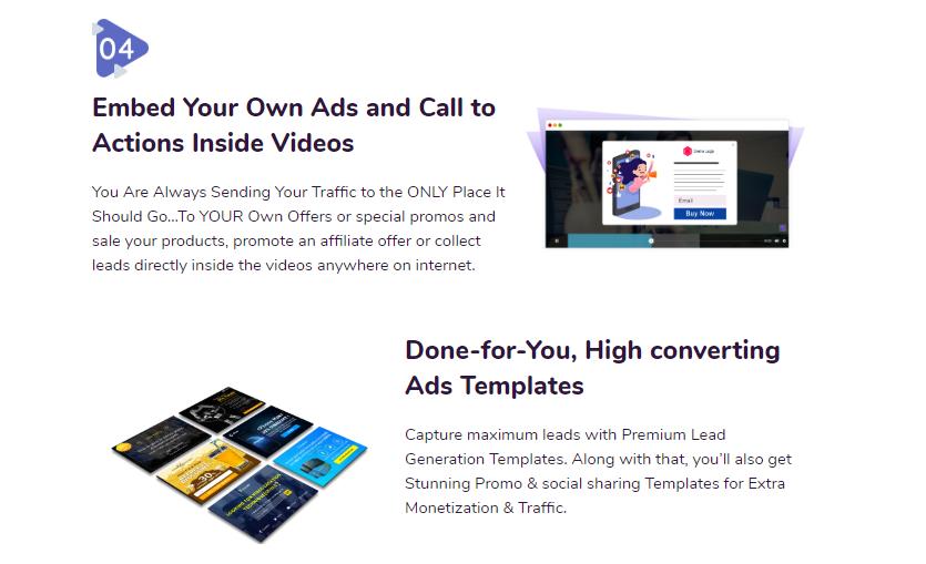 Kaptiwa Video Platform OTO Upsell by DotcomPal