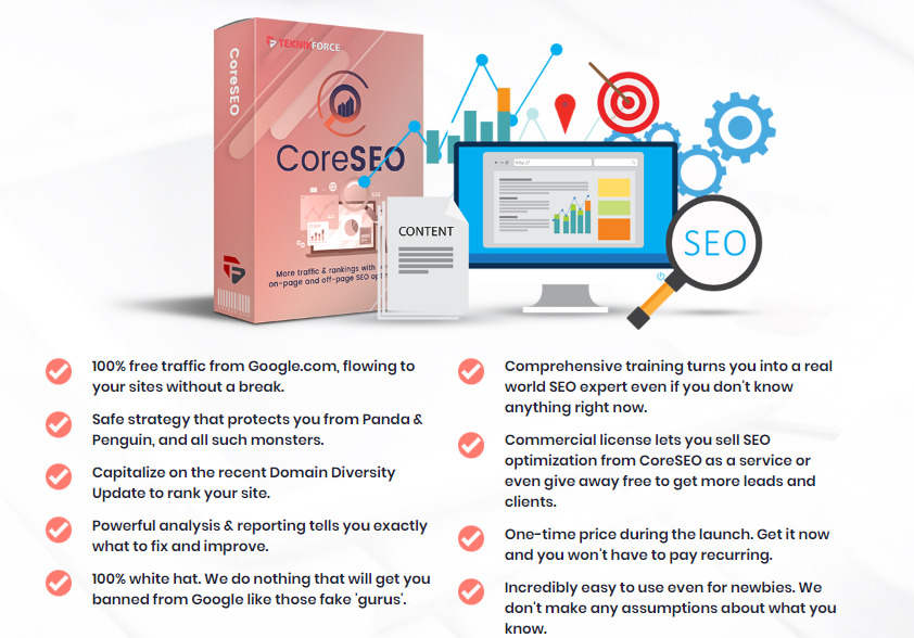 CoreSEO OTO Upsell Software by Cyril Gupta Review – Best