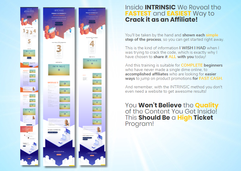 Intrinsic WSO OTO Upsell System by Trevor C Review – Best