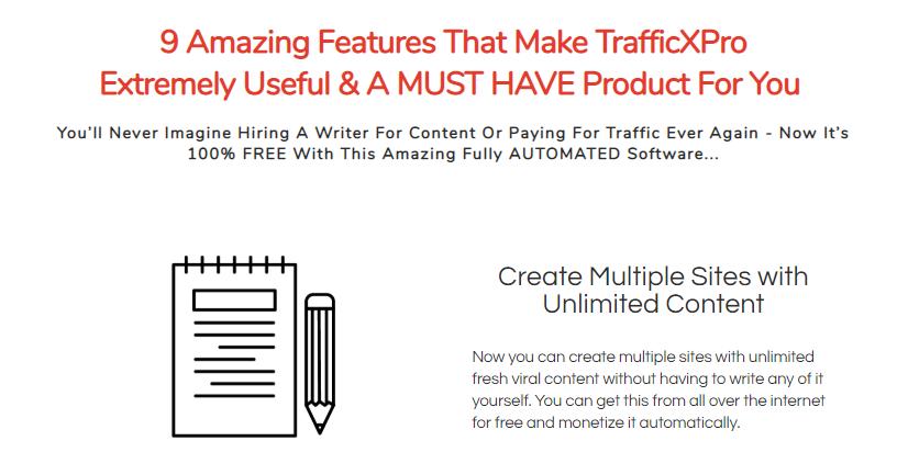 TrafficXPro Software OTO Upsell by Mosh Bari