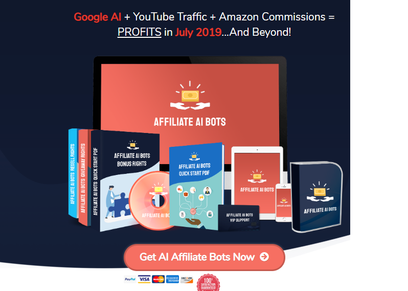Affiliate AI Bots Software OTO Upsell by Rich Williams