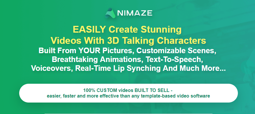 Animaze 3D Video Creator OTO Upsell Software
