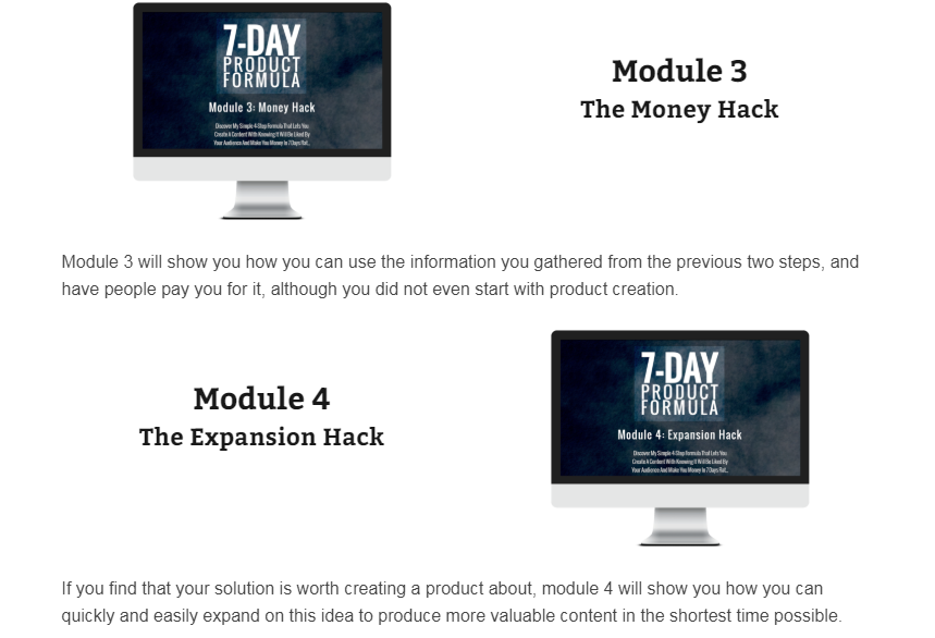 7-Day Product Formula WSO OTO Upsell by Torsten Mueller