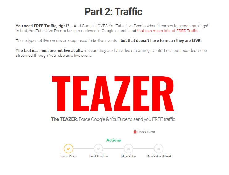 Teazer Software System OTO Upsell by Mark Bishop
