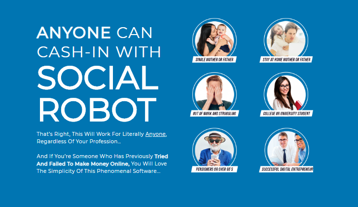 Social Robot Software OTO Upsell by Billy Darr