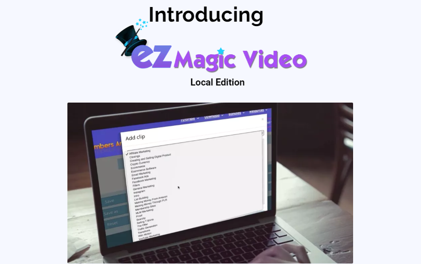 EZ Magic Video Local Edition by Matt Bush