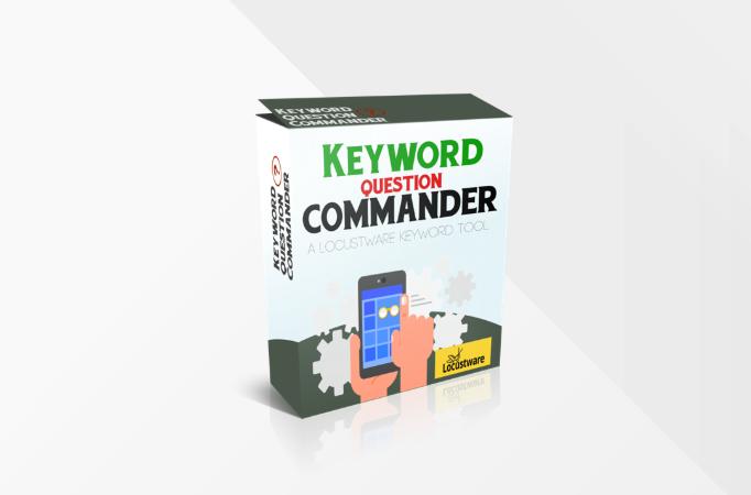 Keyword Question Commander WSO by Cliff Carrigan