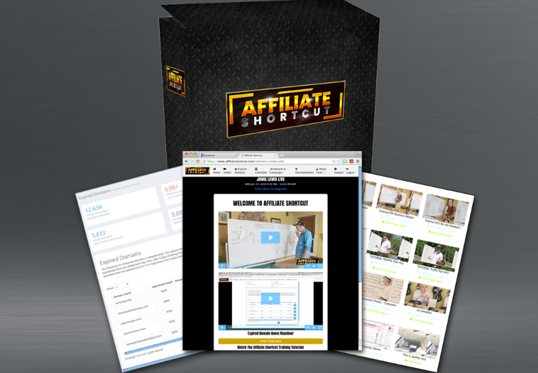 Affiliate Shortcut Membership by Jamie Lewis