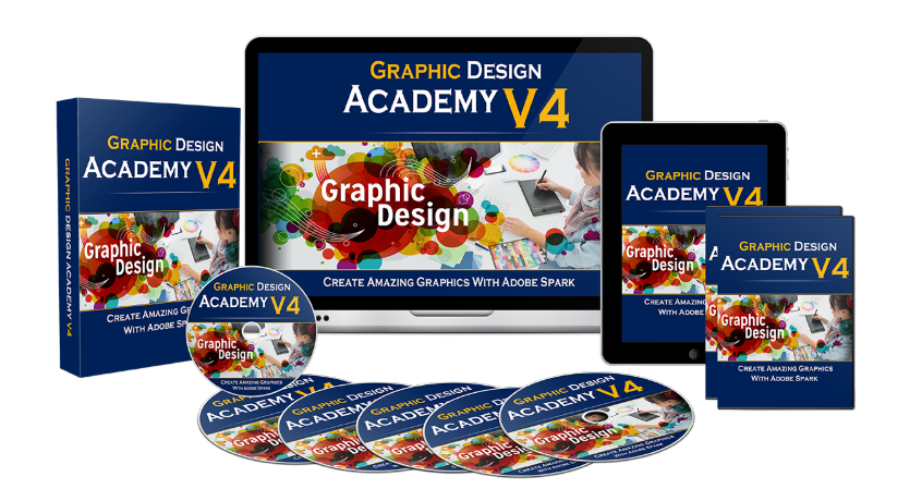 Graphic Design Academy V4 OTO Upsell by Shelley Penney Review – Best