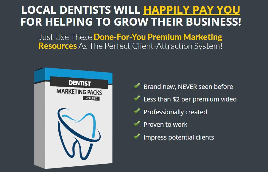 Dentist Marketing Packs V2 OTO Upsell