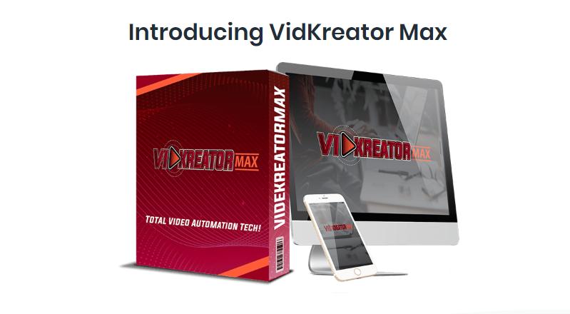 VidKreator MAX Review + VidKreator MAX OTO Upsell + Video