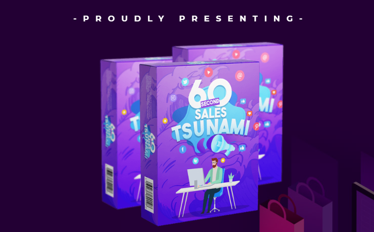 60 Second Sales Tsunami Pack OTO Upsell Review by Shelley Penney