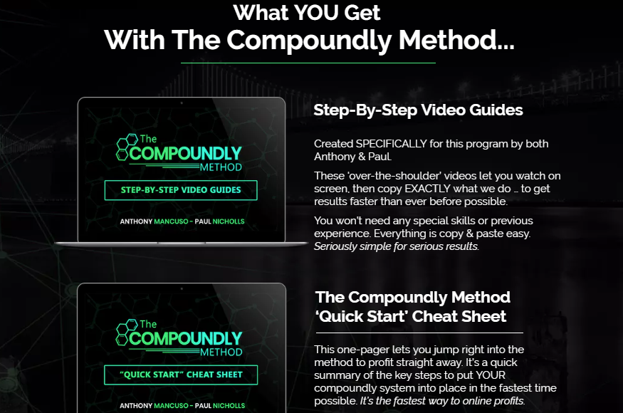 The Compoundly Method & OTO Upsell Review by Paul Nichols