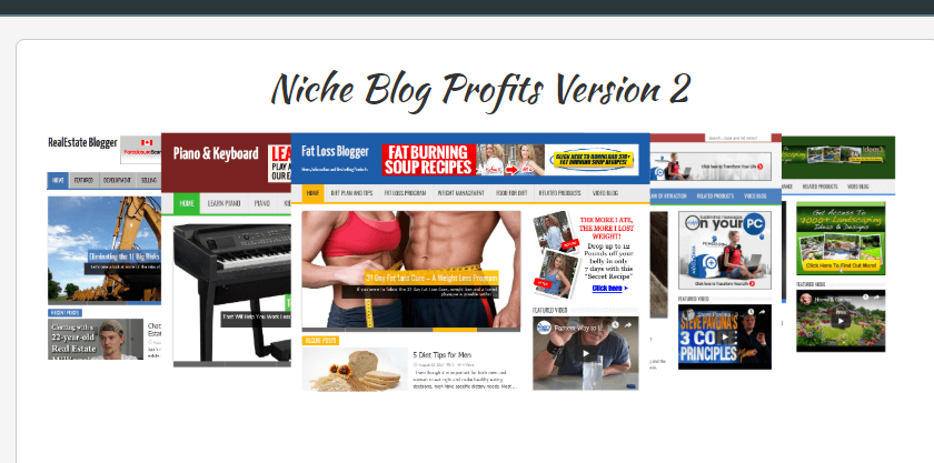 Niche Blog Profits V2 OTO Upsell Review