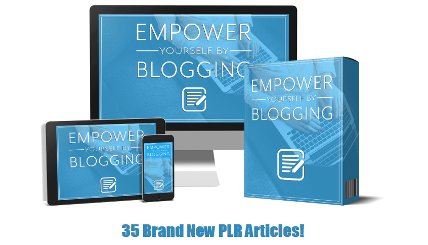 Empower Yourself By Blogging PLR OTO Upsell