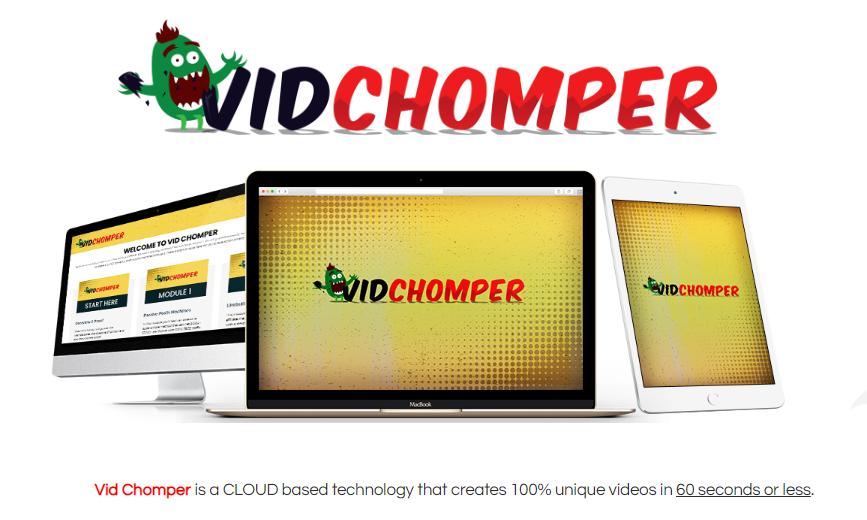 Vid Chomper Software Review & OTO Upsell by Brendan Mace