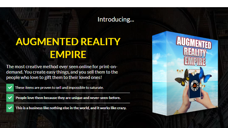 Augmented Reality Empire OTO Upsell Review