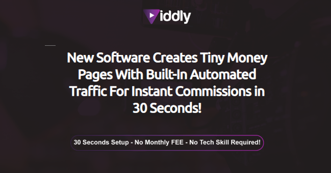 VIDDLY App Software & OTO Upsell