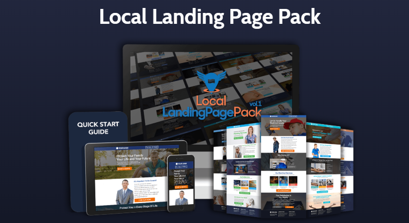 Local Landing Page Pack 2019 & OTO Upsell