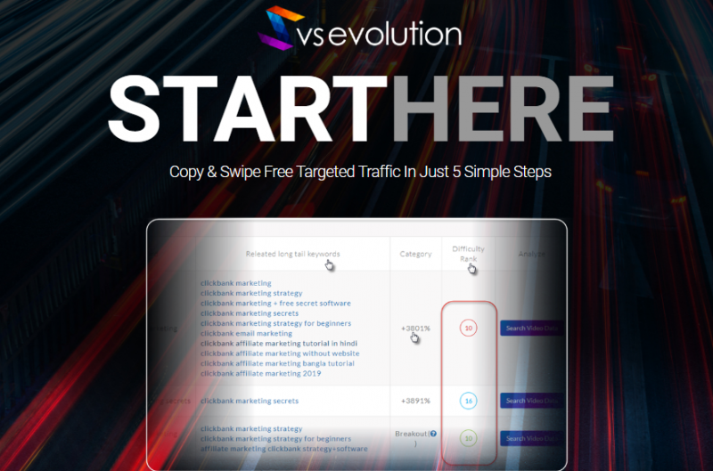 VS Evolution App OTO Review & Upsell by Mark Bishop