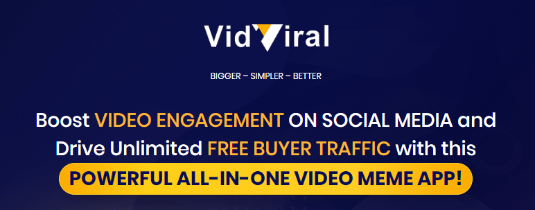 VidViral 2.0 Software & OTO Upsell by Harshal Jadhav