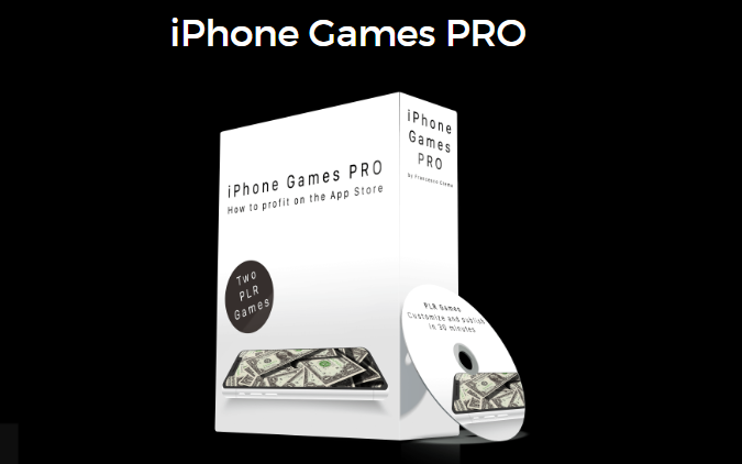 iPhone Games PRO & OTO Upsell by Francesco Crema