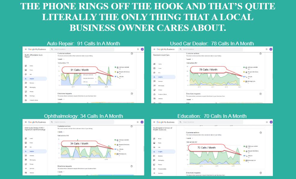 GMB 3-Pack Google My Business Secrets & OTO Upsell by Jack Hopman