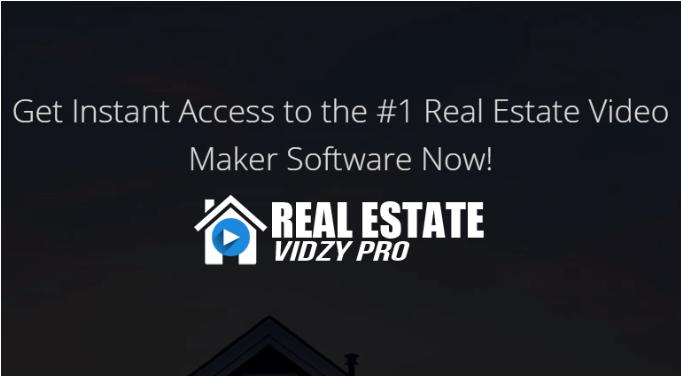 Real Estate Vidzy PRO & OTO Upsell by StevesProfit