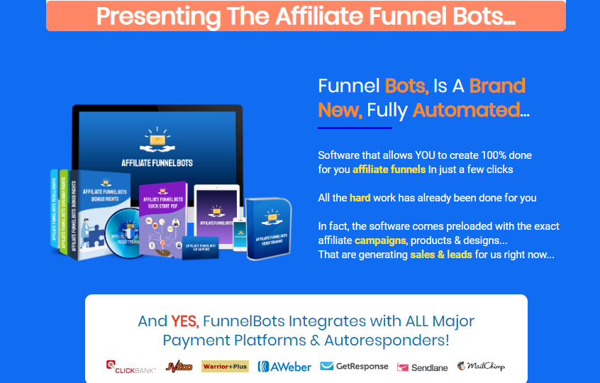 Affiliate Funnel Bot 2.0 & OTO by Rich William
