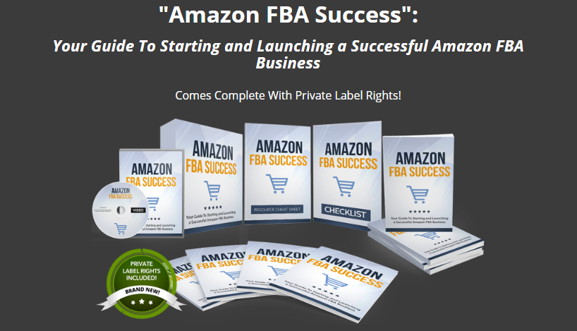 Amazon FBA Success PLR + OTO by Aurelius Tjin
