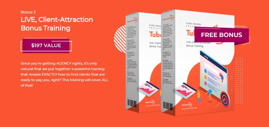 TUBECHARGE Agency + OTO Upsell by Joshua Zamora