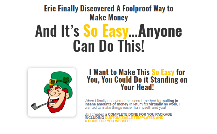 UNSTOPPABLE Training + OTO Upsell by Eric Hammer