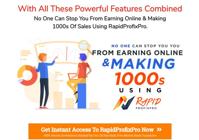 RapidProfixPro Software + OTO Upsell by Mosh Bari