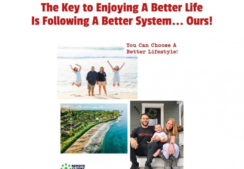 Remote Client System OTO & Upsell by Nick Ponte Review