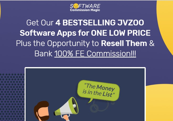 Software Commission Magic OTO & Upsell by Mario Brown