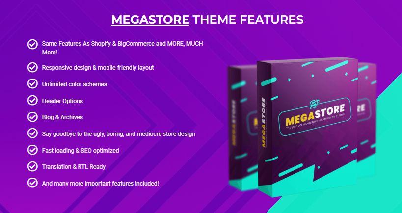 MEGASTORE WP Theme OTO & Upsell by Fachrul Stream