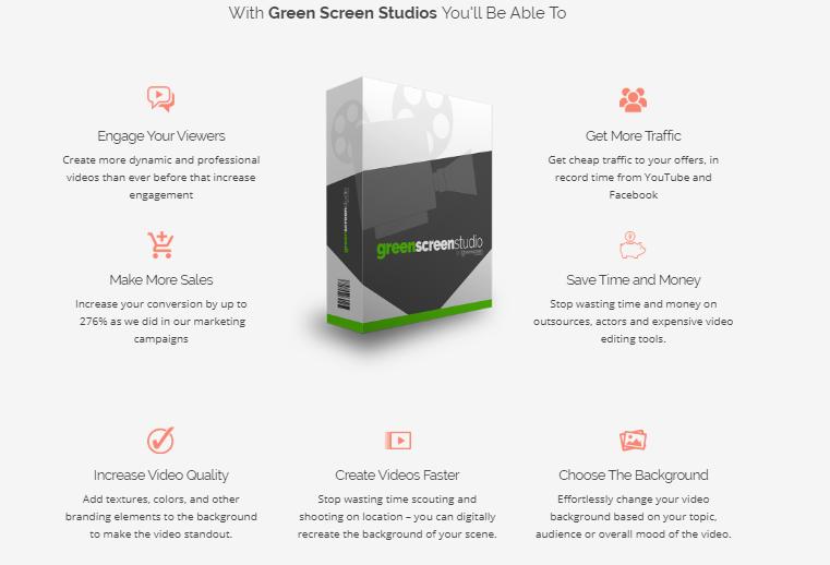 Green Screen Studio & OTO Upsell by Ionut Macovei