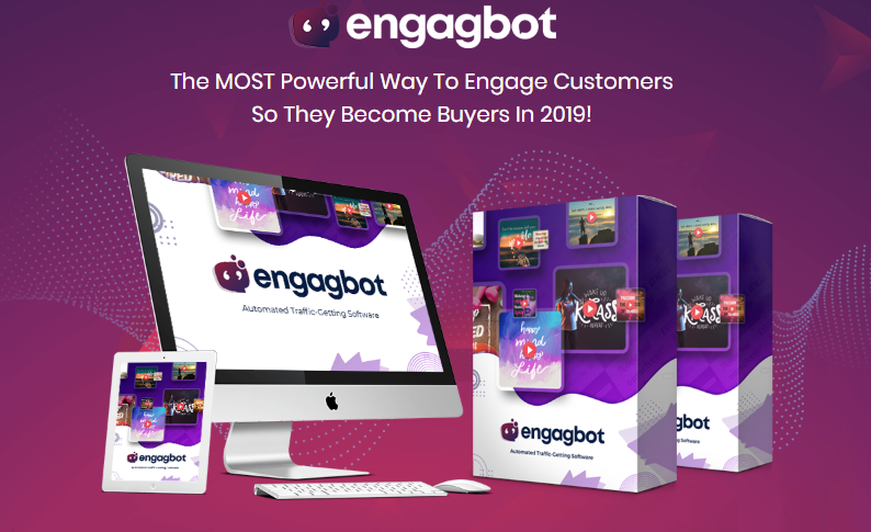 EngagBot PRO Software & OTO Upsell by Brett Ingram