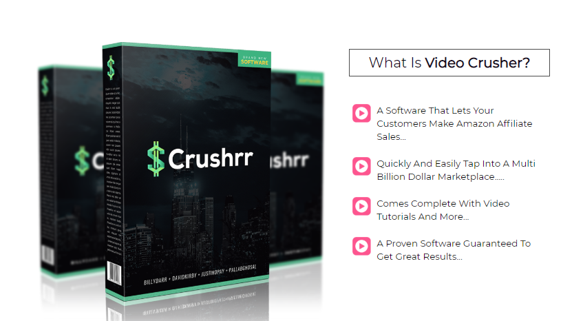 Crushrr Software OTO & Upsell by Billy Darr