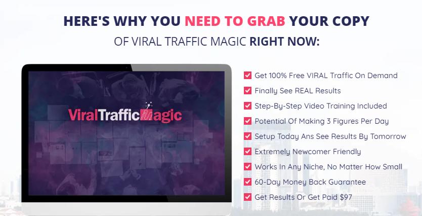 Viral Traffic Magic OTO & Upsell by Art Flair