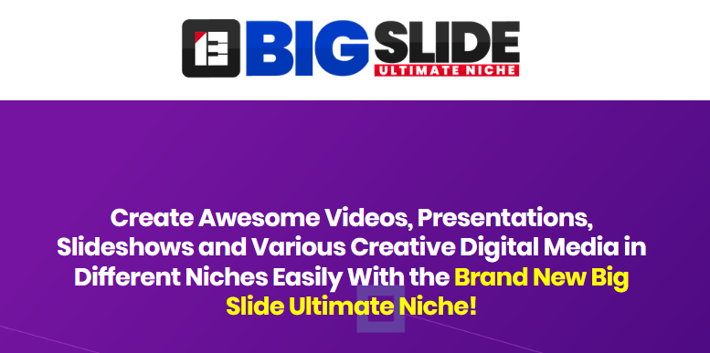 Big Slide Ultimate Niche OTO & Upsell by SuperGoodProduct