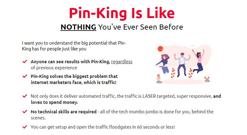 PinKing Pinterest Software+OTO Upsell by Dan Ashendorf