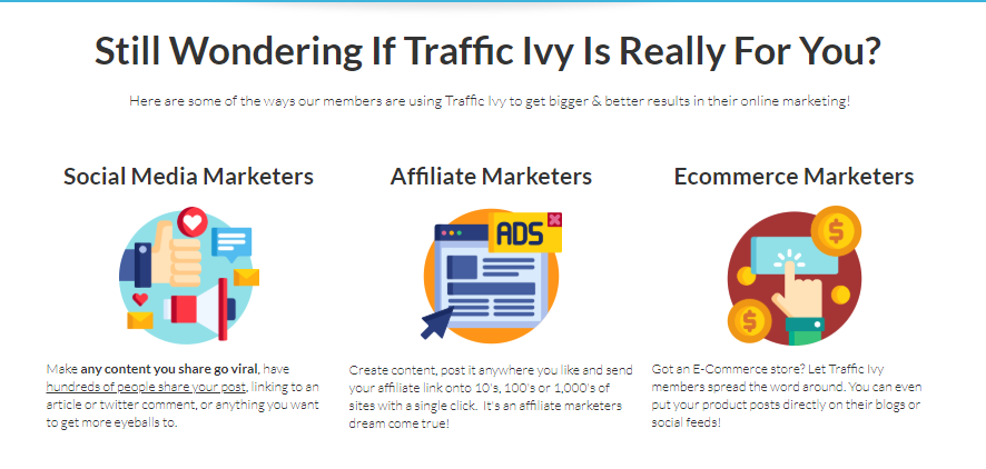 Traffic Ivy Software & OTO Upsell by Cindy Donovan