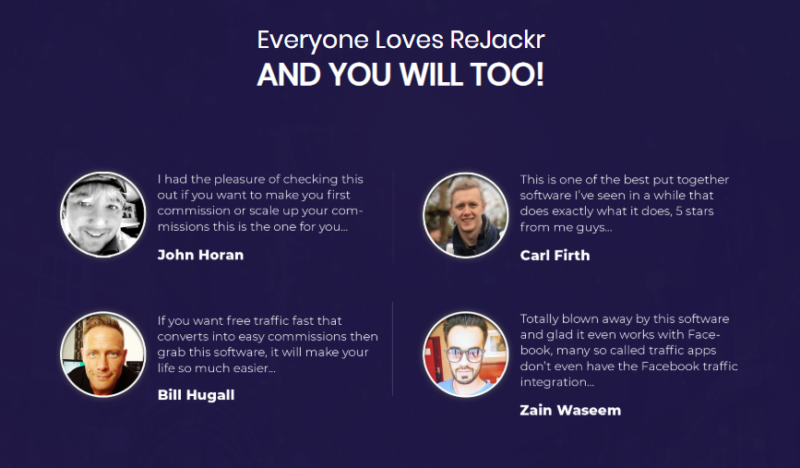 ReJackr Software App & OTO Upsell by Billy Darr