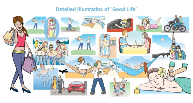 Doodle Assets Kit & OTO Upsell by Max Rilsky