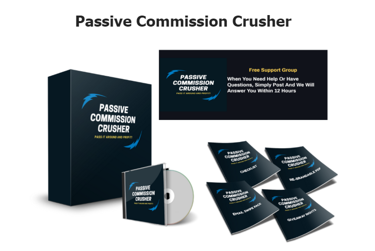 Passive Commission Crusher & OTO by Michael Sirois