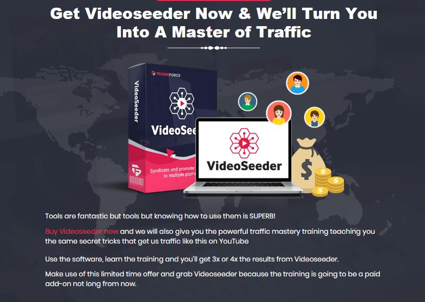 VideoSeeder & OTO Upsell by Cyril Gupta