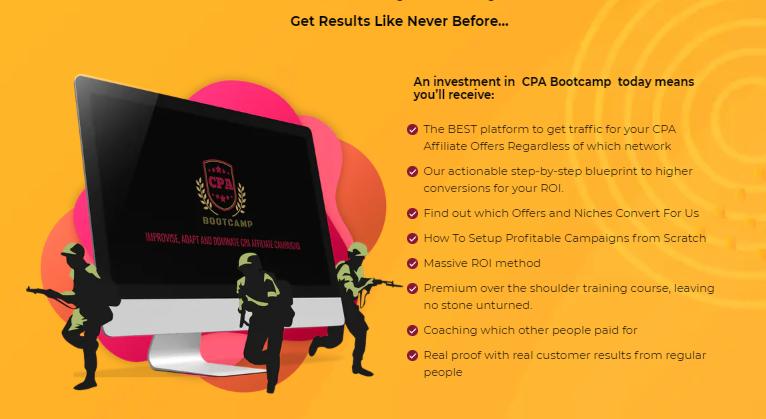 CPA Bootcamp Training & OTO Upsell by DPapa